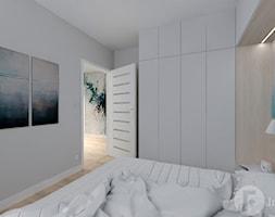 Mieszkanie w Modlnicy pod Krakowem - Sypialnia, styl skandynawski - zdjęcie od InnerForms - Homebook