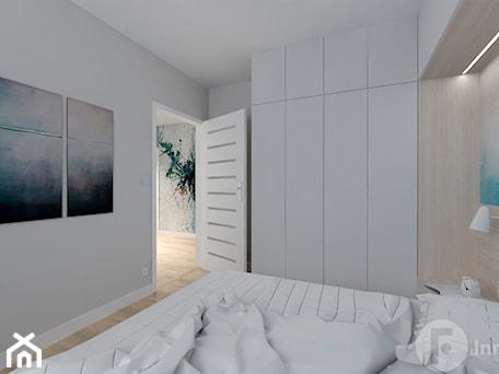 Aranżacje wnętrz - Sypialnia: Mieszkanie w Modlnicy pod Krakowem - Sypialnia, styl skandynawski - InnerForms. Przeglądaj, dodawaj i zapisuj najlepsze zdjęcia, pomysły i inspiracje designerskie. W bazie mamy już prawie milion fotografii!