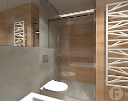 Mieszkanie w Modlnicy pod Krakowem - Łazienka, styl skandynawski - zdjęcie od InnerForms - Homebook