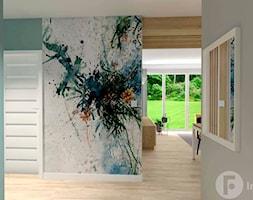Mieszkanie w Modlnicy pod Krakowem - Hol / przedpokój, styl skandynawski - zdjęcie od InnerForms - Homebook