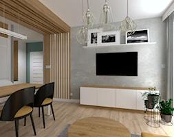 Mieszkanie w Modlnicy pod Krakowem - Salon, styl skandynawski - zdjęcie od InnerForms - Homebook