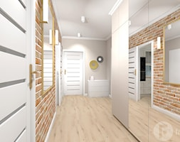 Parterowy dom pod Krakowem - Hol / przedpokój, styl klasyczny - zdjęcie od InnerForms - Homebook