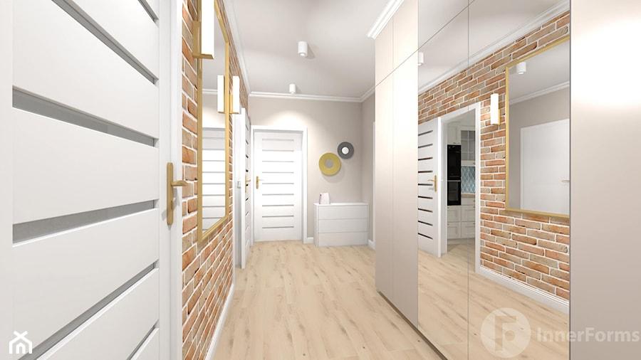 Parterowy dom pod Krakowem - Hol / przedpokój, styl klasyczny - zdjęcie od InnerForms