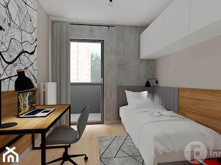 Aranżacje wnętrz - Sypialnia: Mieszkanie z loftowym klimatem, Kraków - Sypialnia, styl industrialny - InnerForms. Przeglądaj, dodawaj i zapisuj najlepsze zdjęcia, pomysły i inspiracje designerskie. W bazie mamy już prawie milion fotografii!