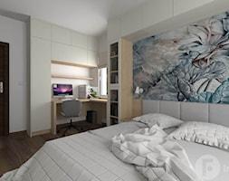 Metamorfoza sypialni - Sypialnia, styl nowoczesny - zdjęcie od InnerForms - Homebook