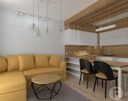 Mieszkanie w Modlnicy pod Krakowem - Kuchnia, styl skandynawski - zdjęcie od InnerForms - Homebook