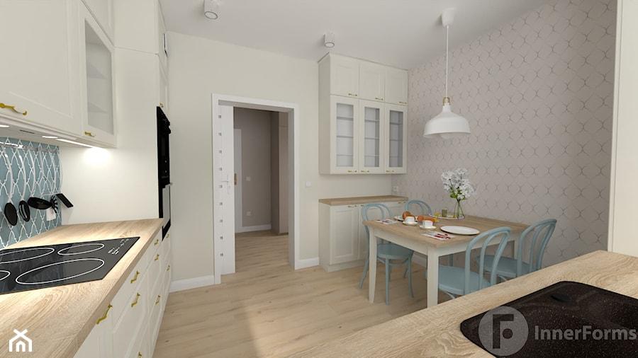 Parterowy dom pod Krakowem - Kuchnia, styl klasyczny - zdjęcie od InnerForms