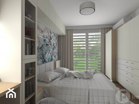 Aranżacje wnętrz - Sypialnia: Metamorfoza sypialni - Sypialnia, styl nowoczesny - InnerForms. Przeglądaj, dodawaj i zapisuj najlepsze zdjęcia, pomysły i inspiracje designerskie. W bazie mamy już prawie milion fotografii!