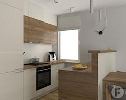 Dwupoziomowy apartament w Dębnikach, Kraków - Kuchnia, styl nowoczesny - zdjęcie od InnerForms - Homebook