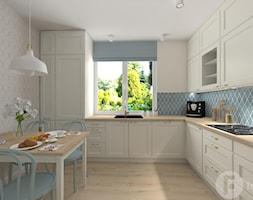 Parterowy dom pod Krakowem - Kuchnia, styl klasyczny - zdjęcie od InnerForms - Homebook