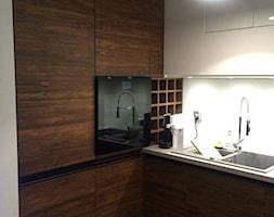 Mała średnia otwarta zamknięta kuchnia w kształcie litery l, styl nowoczesny - zdjęcie od Kam Kuchnie Sobienie Jeziory