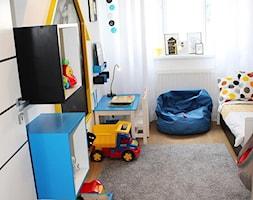 #pokojdziecka - Mały biały beżowy pokój dziecka dla chłopca dla dziewczynki dla malucha - zdjęcie od Marta Gruszczyńska 3