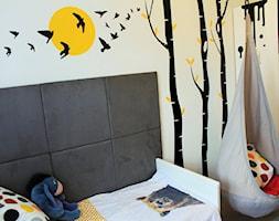 #pokojdziecka - Mały biały szary czarny pokój dziecka dla malucha - zdjęcie od Marta Gruszczyńska 3