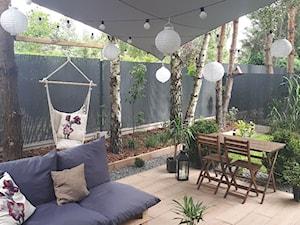 #tajemniczyogrod - Duży ogród za domem z hamakiem - zdjęcie od Ann.living
