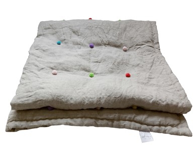 Lniana narzuta dziecięce - zdjęcie od dom artystyczny