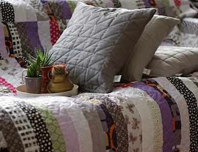 narzuta patchwork nowoczesny, patchwork - zdjęcie od dom artystyczny