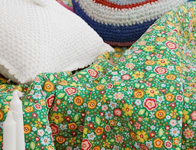 pikowana kapa w stylu rustykalnym - zdjęcie od dom artystyczny