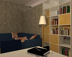 Otwarty+salon+w+skandynawskim+stylu+-+zdj%C4%99cie+od+Natalia+Augustynek+Interior+Design