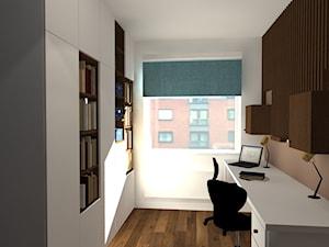 Biuro w stylu skandynawskim - zdjęcie od Natalia Augustynek Interior Design