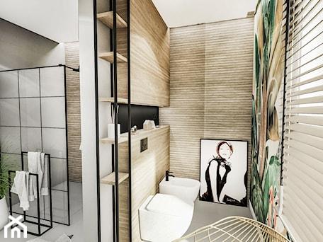 Aranżacje wnętrz - Łazienka: PROJEKT ŁAZIENKI - ZIELONA 2019 - Średnia biała czarna szara kolorowa łazienka z oknem, styl eklektyczny - BIBI. Przeglądaj, dodawaj i zapisuj najlepsze zdjęcia, pomysły i inspiracje designerskie. W bazie mamy już prawie milion fotografii!