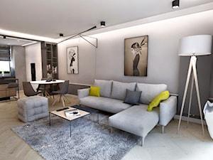 Projekt mieszkania W Warszawie , 58 m2