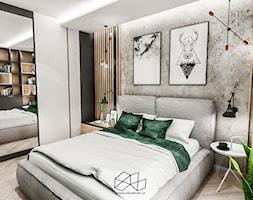 Sypialnia W Kawalerce łódż 2019 Projekt Wnętrza