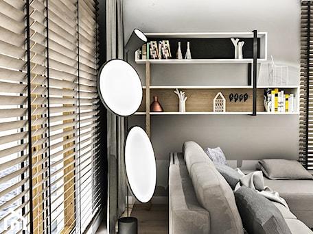 Aranżacje wnętrz - Salon: Projekt Mieszkania W-wa 2019 - Mały szary salon - BIBI. Przeglądaj, dodawaj i zapisuj najlepsze zdjęcia, pomysły i inspiracje designerskie. W bazie mamy już prawie milion fotografii!