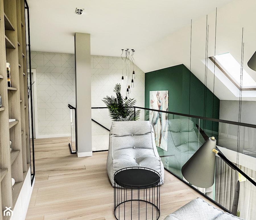 Aranżacje wnętrz - Hol / Przedpokój: Projekt wnętrza domu pod Sewillą - Duży szary zielony hol / przedpokój - BIBI. Przeglądaj, dodawaj i zapisuj najlepsze zdjęcia, pomysły i inspiracje designerskie. W bazie mamy już prawie milion fotografii!