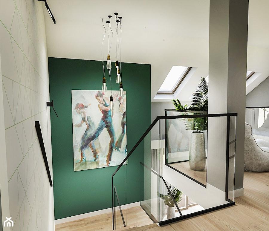 Projekt wnętrza domu pod Sewillą - Schody - zdjęcie od BIBI
