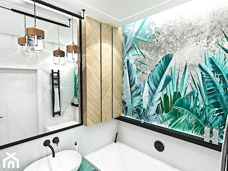 Aranżacje wnętrz - Łazienka: PROJEKT ŁAZIENKI - 6m2 - Mała łazienka w bloku w domu jednorodzinnym bez okna, styl nowojorski - BIBI. Przeglądaj, dodawaj i zapisuj najlepsze zdjęcia, pomysły i inspiracje designerskie. W bazie mamy już prawie milion fotografii!