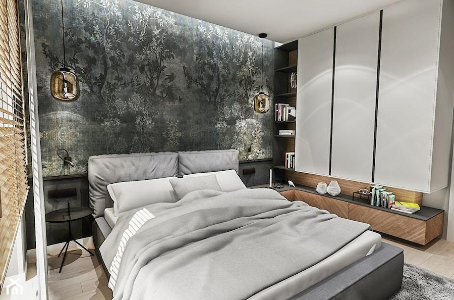 Projekt sypialni -LDZ 2019 - Sypialnia, styl vintage - zdjęcie od BIBI