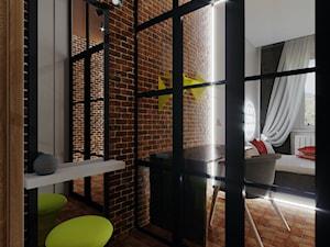 loft - Garderoba, styl industrialny - zdjęcie od Karolina Żaczek
