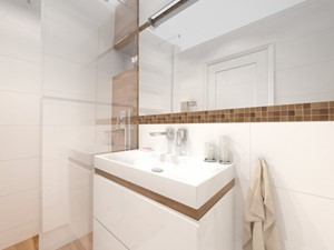 Łazienka – prosto i tanio