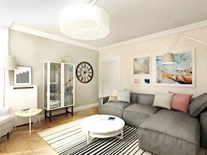 Projekt mieszkania 90 m2 Warszawa
