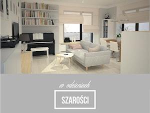 Projekt  mieszkania 70 m2 ul. Sasanki, Warszawa - 'makeover'