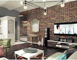 Salon - Salon, styl klasyczny - zdjęcie od 2k-architektura - Homebook