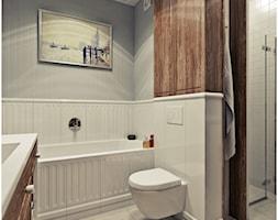 Łazienka retro - Średnia łazienka w domu jednorodzinnym, styl vintage - zdjęcie od 2k-architektura - Homebook