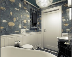 Łazienka- klasyczna - Łazienka, styl klasyczny - zdjęcie od 2k-architektura - Homebook