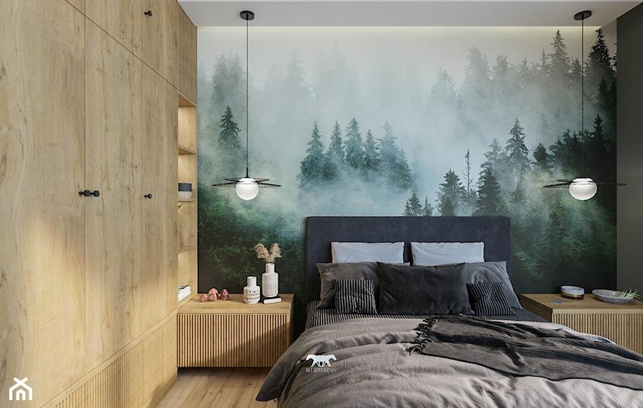 M53 - Sypialnia, styl nowoczesny - zdjęcie od BLUETARPAN