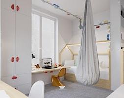 M78 - Mały biały pokój dziecka dla chłopca dla rodzeństwa dla ucznia dla malucha - zdjęcie od BLUETARPAN