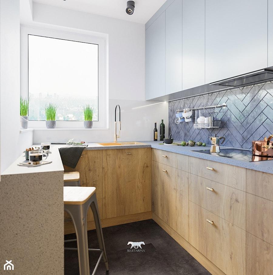 M72 - Kuchnia, styl industrialny - zdjęcie od BLUETARPAN
