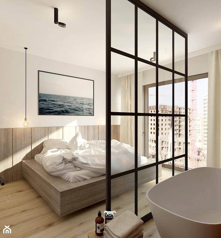 M85 - Sypialnia, styl nowoczesny - zdjęcie od BLUETARPAN