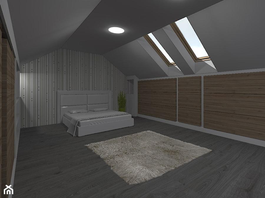 sypialnia ikea + drewno - zdjęcie od woodenline