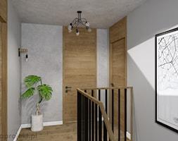 Dom pod Gdańskiem - Schody, styl nowoczesny - zdjęcie od emkaprojekt - Homebook