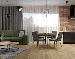 Dom pod Gdańskiem - Salon, styl nowoczesny - zdjęcie od emkaprojekt - Homebook