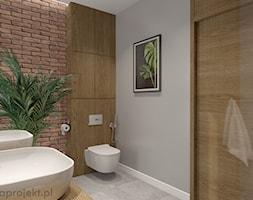 Dom pod Gdańskiem - Łazienka, styl minimalistyczny - zdjęcie od emkaprojekt - Homebook