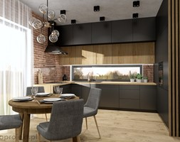Dom pod Gdańskiem - Kuchnia, styl nowoczesny - zdjęcie od emkaprojekt - Homebook