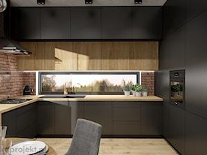 Dom pod Gdańskiem - Kuchnia, styl minimalistyczny - zdjęcie od emkaprojekt