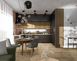 Dom pod Gdańskiem - Kuchnia, styl industrialny - zdjęcie od emkaprojekt - Homebook