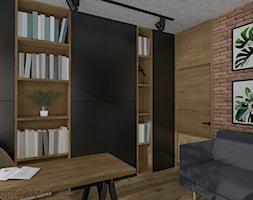 Dom pod Gdańskiem - Biuro, styl nowoczesny - zdjęcie od emkaprojekt - Homebook